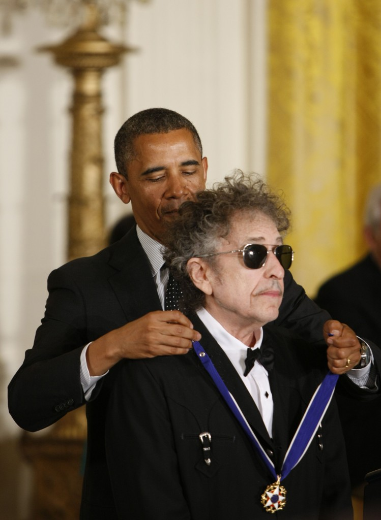 Obama e Dylan
