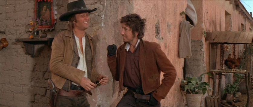 Bob Dylan in una scena da «Pat Garrett e Billy The Kid»