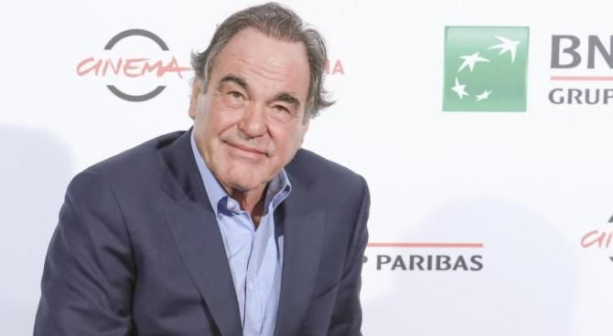 Oliver Stone a Roma