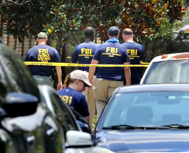 14 giugno 2016, l'Fbi sul luogo della strage di Orlando