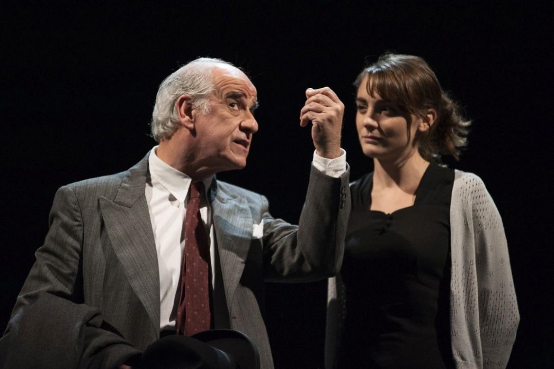 Toni Servillo e Petra Valentini
