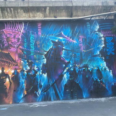 Murales in una banlieue parigina
