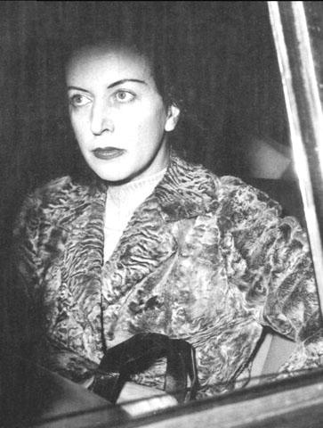 Caterina Fort durante un'udienza
