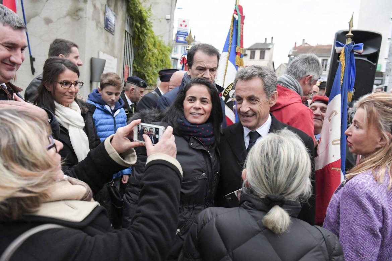 Nicolas Sarkozy nel dipartimento del Rhône