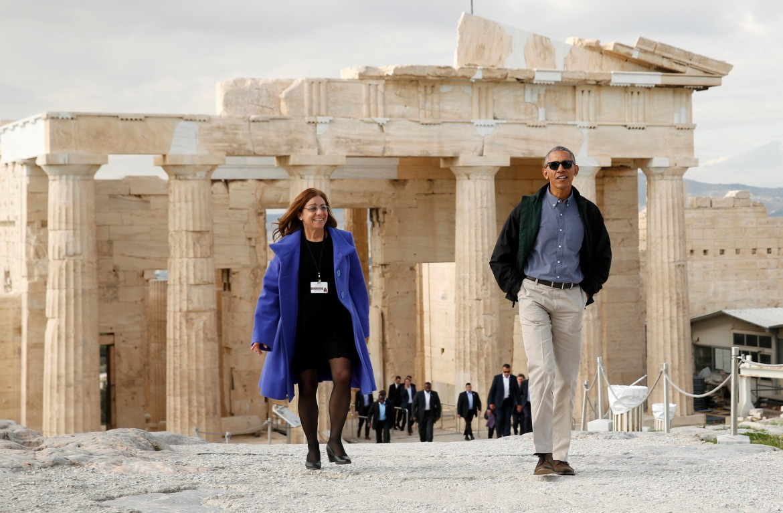 Barack Obama in visita di stato in Grecia