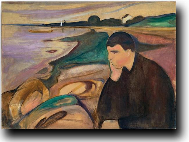 Edward Munch, La malinconia