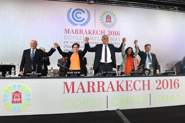 La conferenza di Marrakech