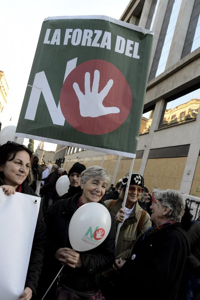 Manifestazione per il No