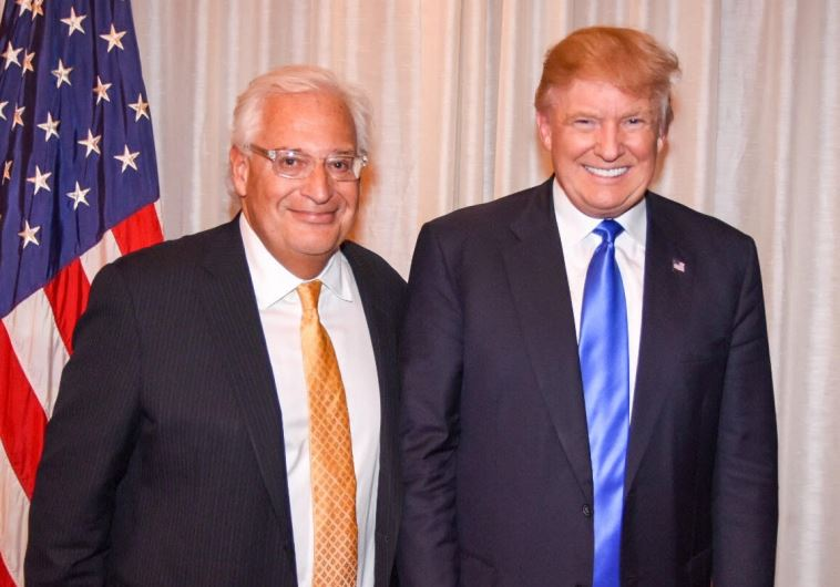David Friedman e Donald Trump