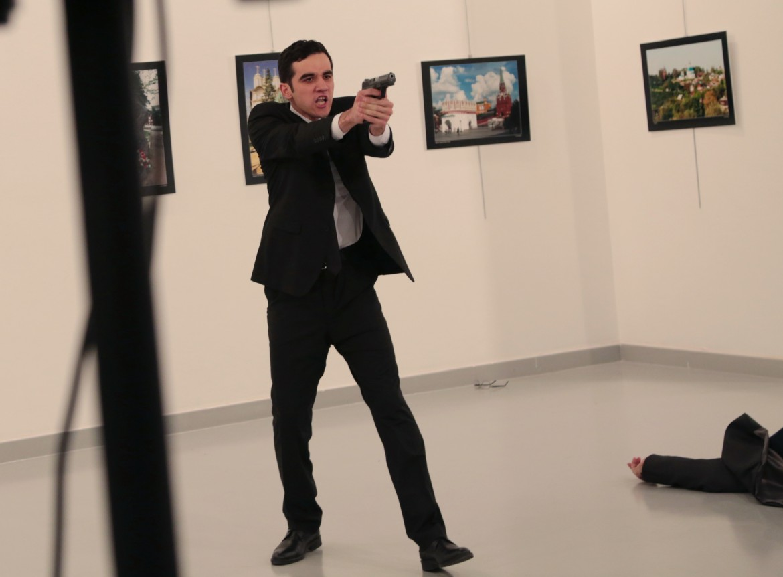 Il killer dell'ambasciatore russo, Mert Altintas