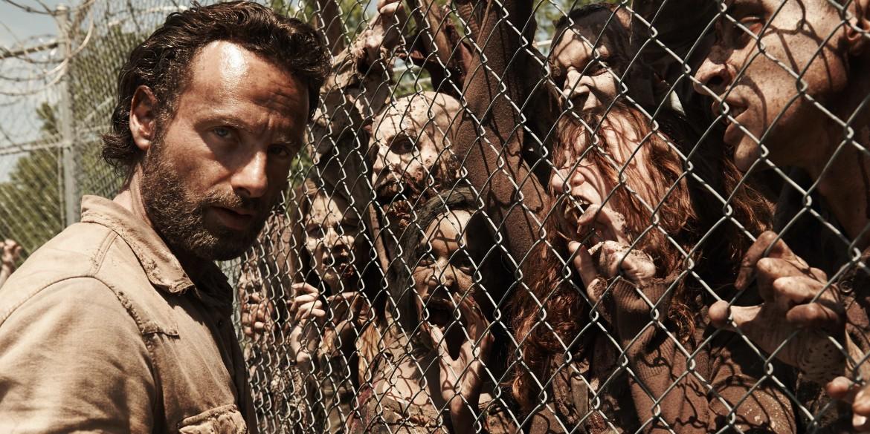 una scena tratta dalla serie tv The walking dead