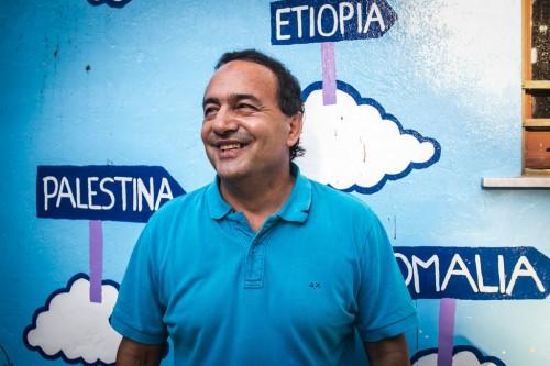 Mimmo Lucano, sindaco di Riace (Reggio Calabria)