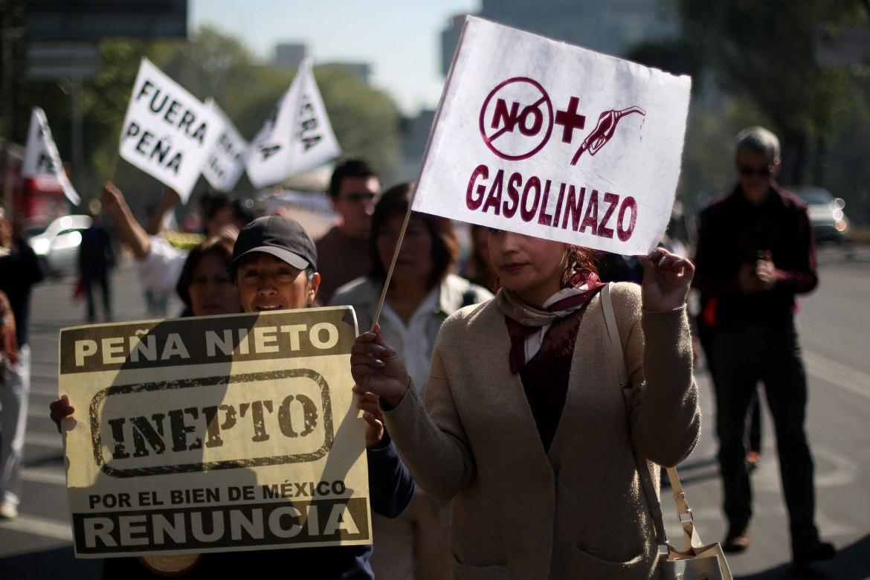 Manifestazioni in Messico