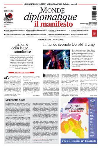 Le Monde diplomatique di gennaio 2017
