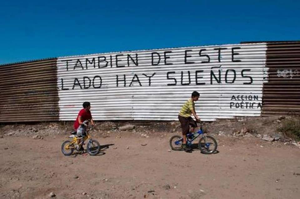 La barriera alla frontiera Usa-Messico