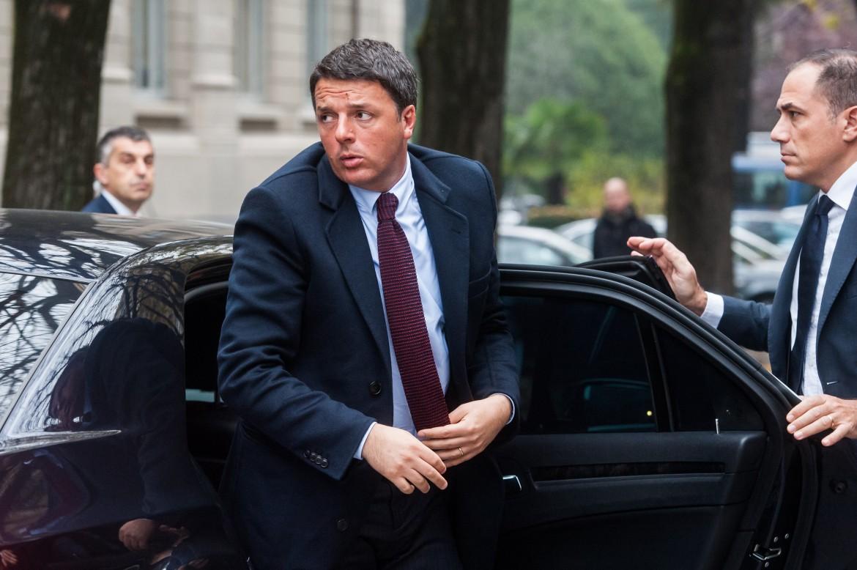 Il segretario Pd Matteo Renzi, ex premier
