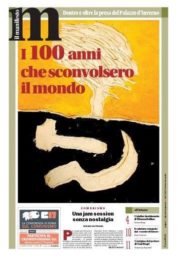 I 100 anni che hanno sconvolto il mondo: la copertina dell'inserto de IL Manifesto
