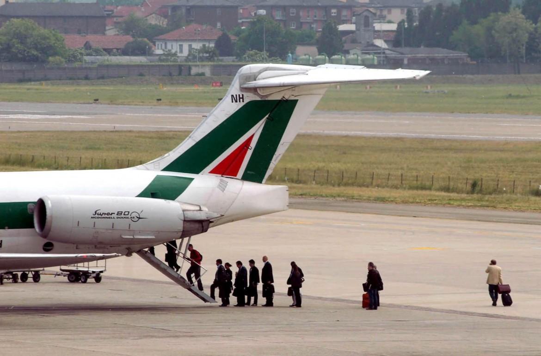 In aumento i passeggeri Alitalia
