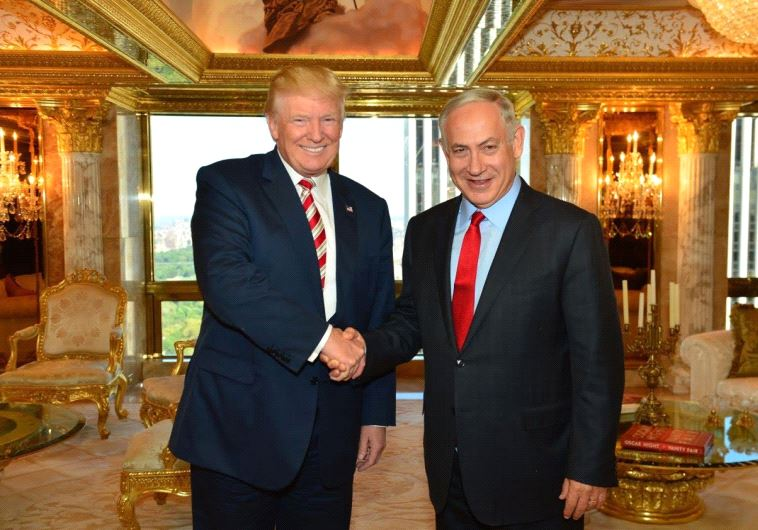 Donald Trump e Benyamin Netanyahu (foto di archivio)
