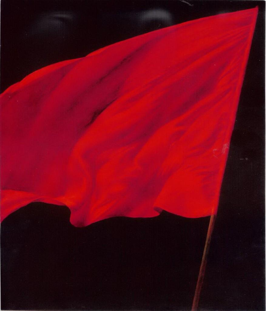 Vitaly Komar e Alex Melamid, «La bandiera rossa», 1984