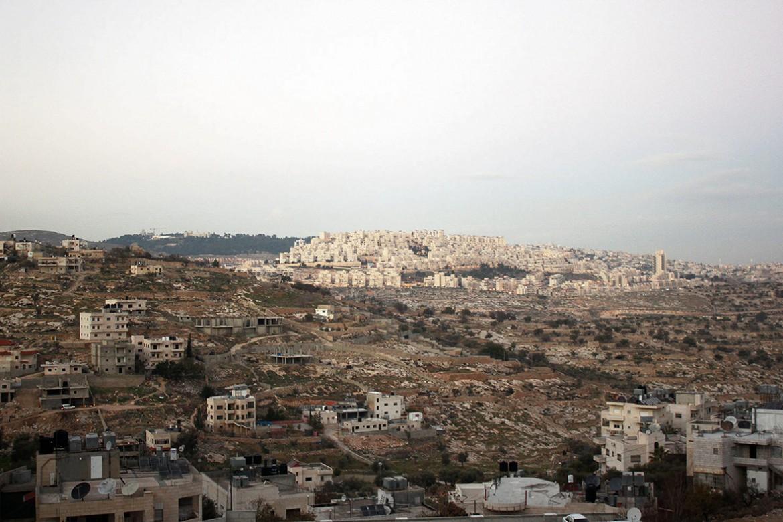 Periferia di Betlemme e Colonia israeliana