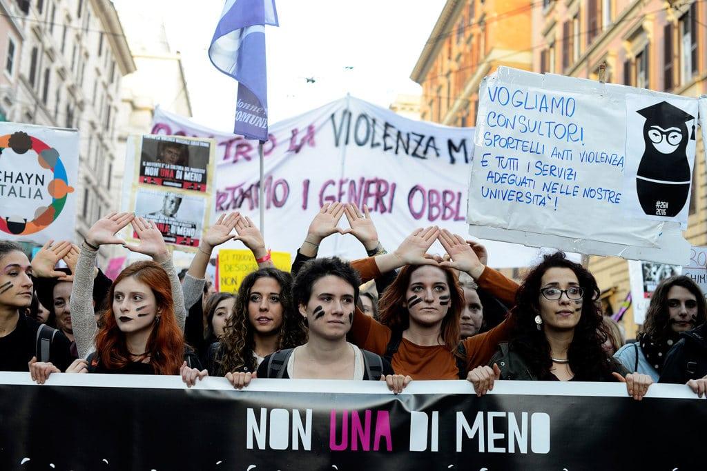 Roma, la manifestazione delle donne il 26 novembre