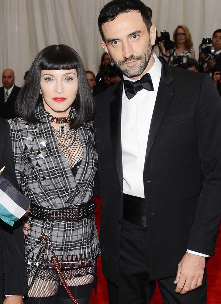 Riccardo Tisci con Madonna