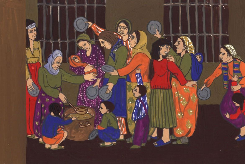 Un'opera di Gülsün Karamustafa