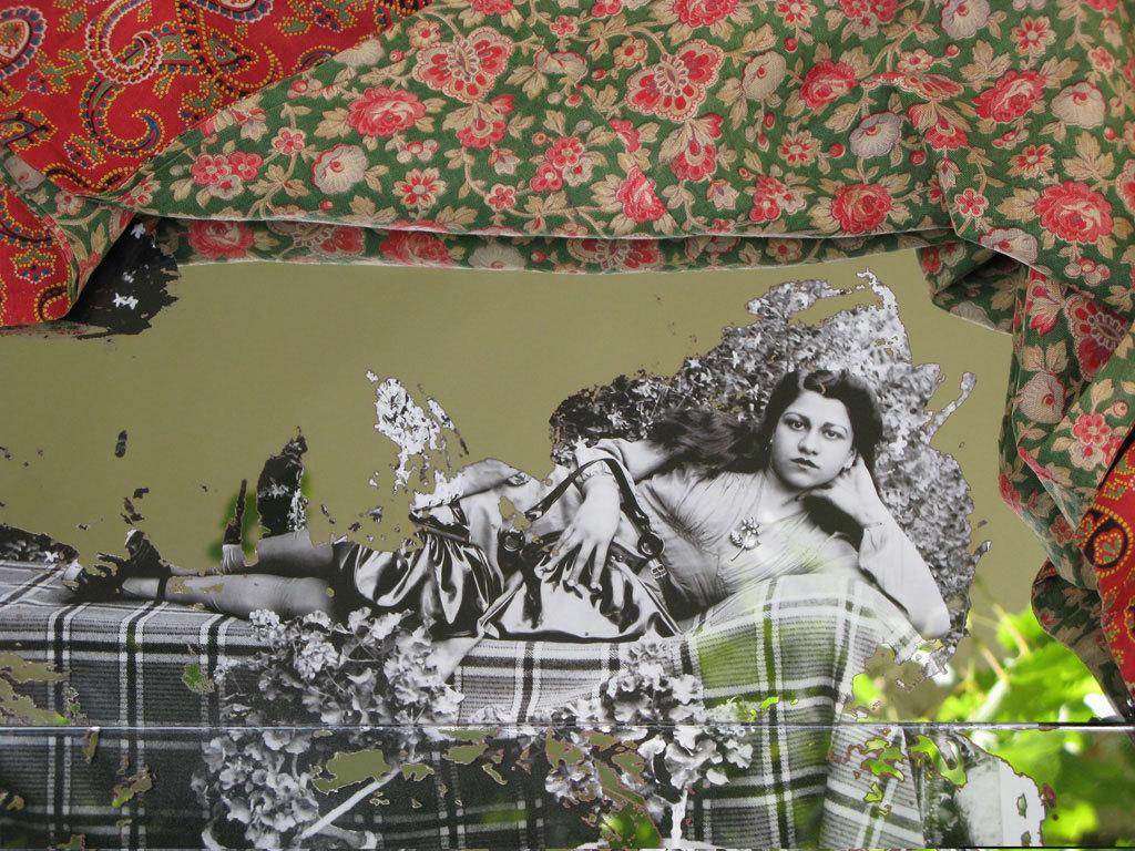Rana Javadi, «Quand tu mourrais» (2008, Silk Road Gallery, Téhéran)