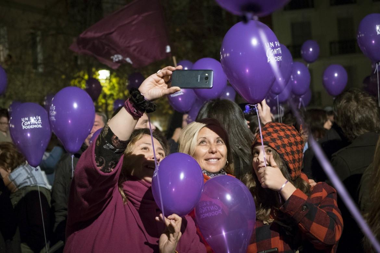 Manifestazione di Podemos