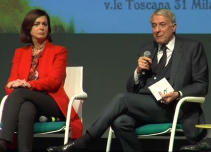 Laura Boldrini e Giuliano Pisapia