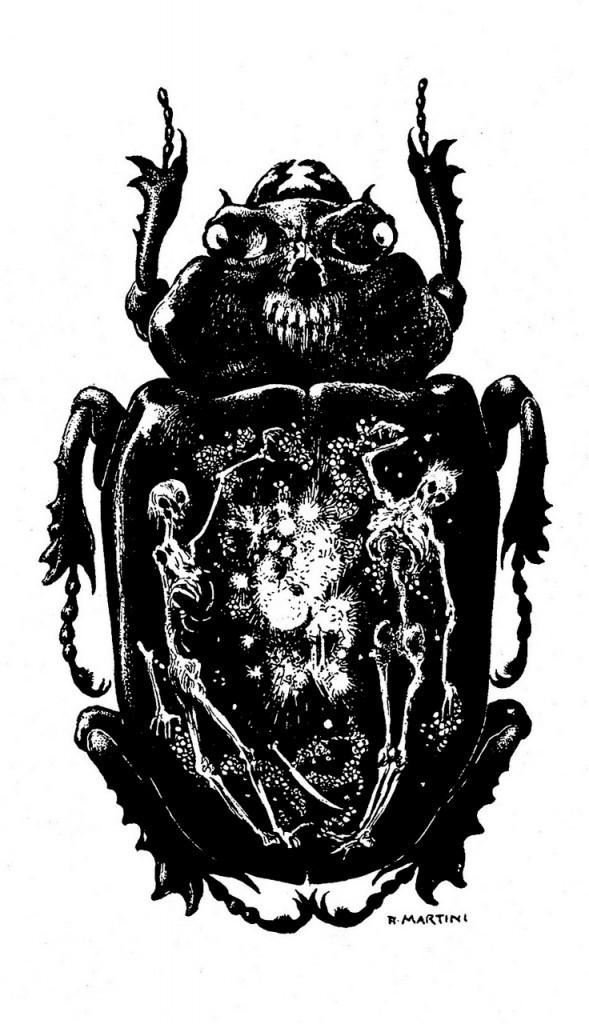 Lo scarabeo d'oro di Edgar Allan Poe illustrato da Alberto Martini