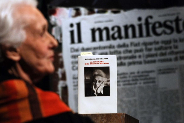 Rossana Rossanda con la sua autobiografia