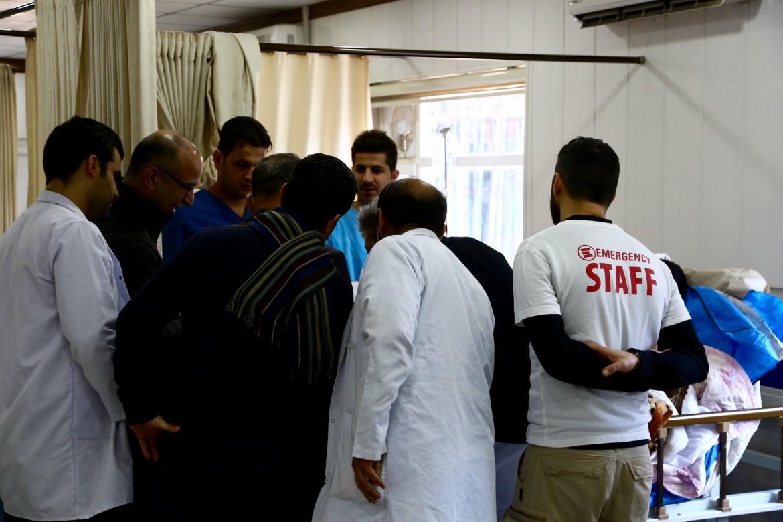L'ospedale di Emergency a Erbil