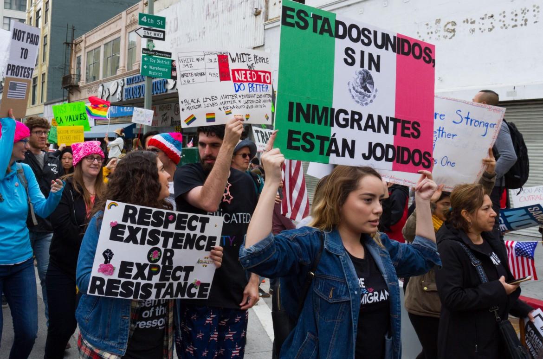 Proteste contro il Muslim ban di Trump