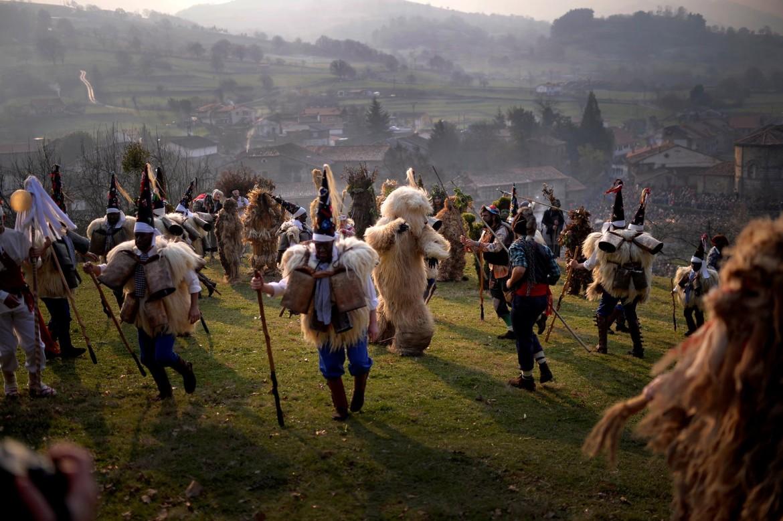 Il Carnevale a Silio, in Cantabria