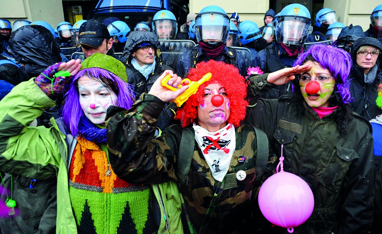 Protesta no-tav 2012