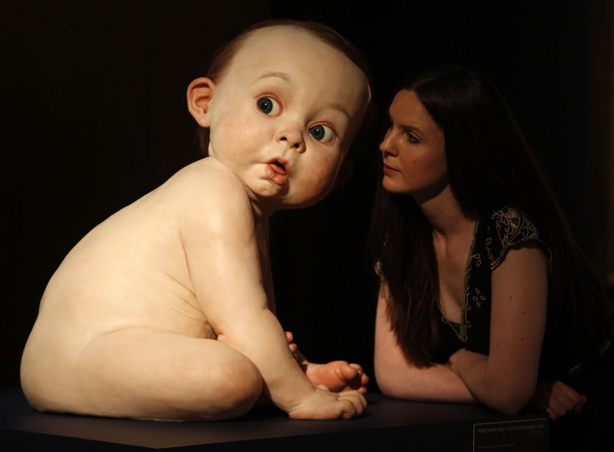 Ron Mueck, «Big Baby»