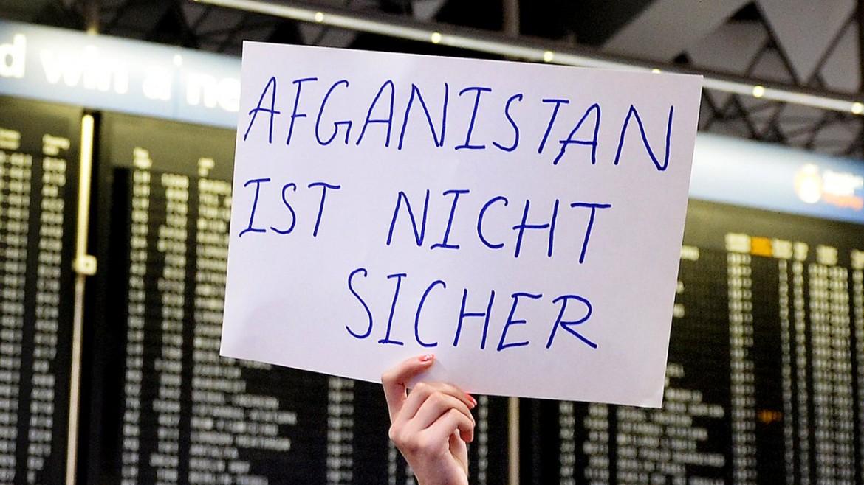Protesta contro contro i rimpatri forzati in Germania
