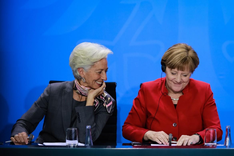 Merkel riceve Christine Lagarde a Berlino