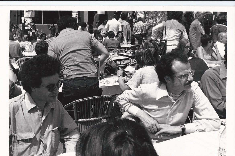 Toubiana e Serge Daney a Cannes