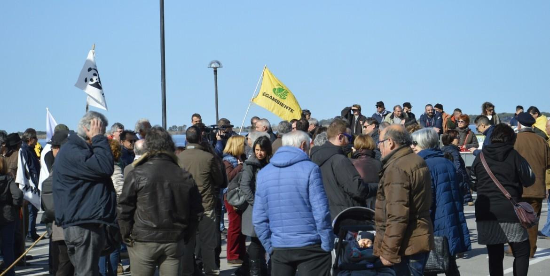Proteste contro l'autostrada in Maremma