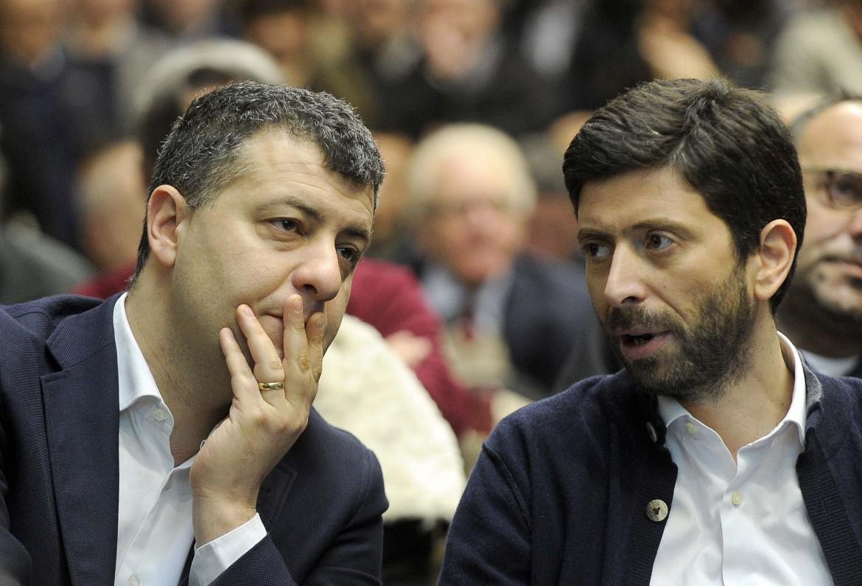 Arturo Scotto e Roberto Speranza