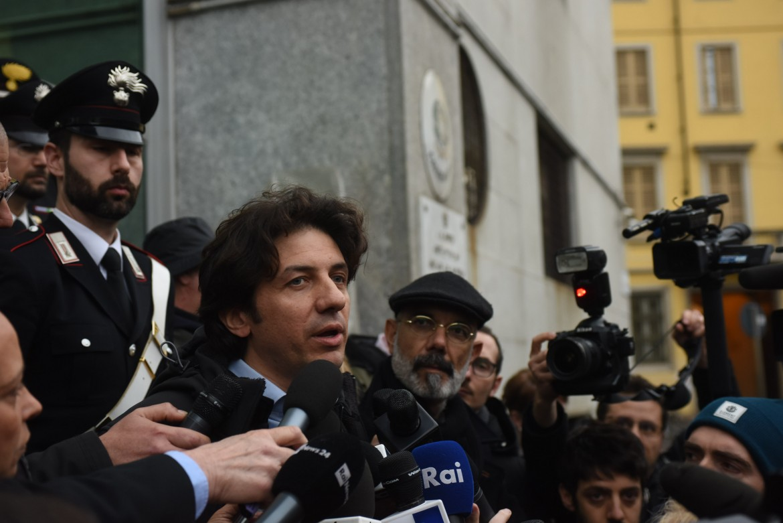Il radicale Marco Cappato, tesoriere dell'Associazione Luca Coscioni