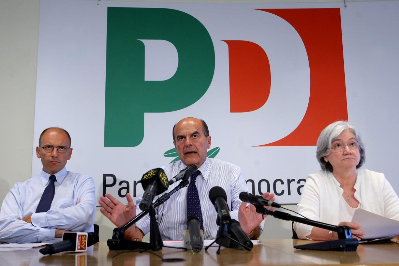 Enrico Letta e Pier Luigi Bersani