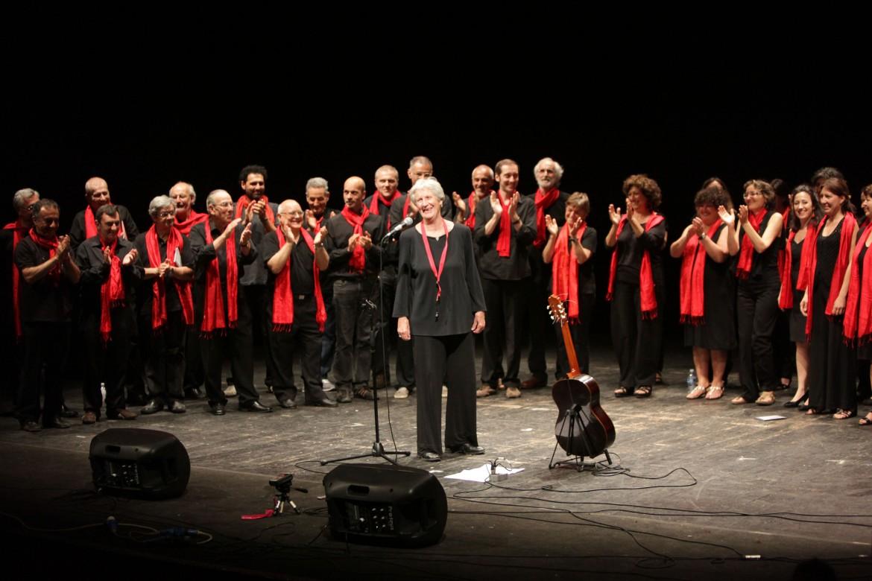 Giovanna Marini, tra le fondatrici della scuola popolare di musica di Testaccio