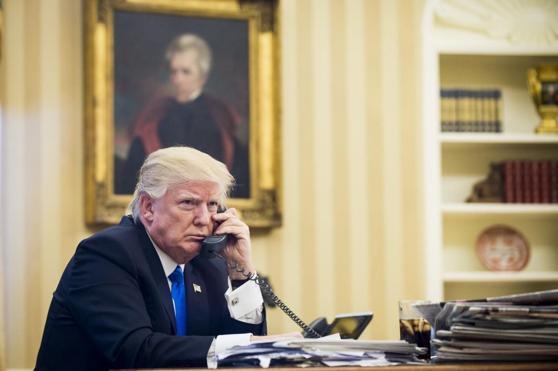 Il presidente Trump nello Studio Ovale