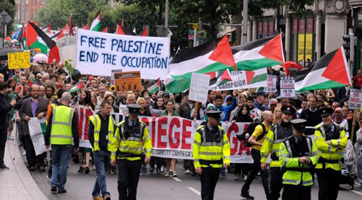 Manifestazione del Bds, accusato da Israele di antisemitismo