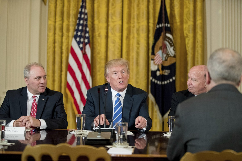 Donald Trump spiega la sua riforma sanitaria