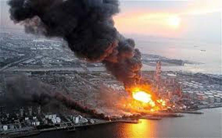 L'incidente nucleare a Fukushima.